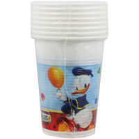Mickey Mouse Plastic Cups - 8 Pack