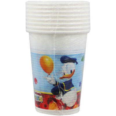 Mickey Mouse Plastic Cups - 8 Pack image number 1