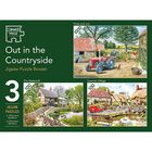 Out in the Countryside 3-in-1 Jigsaw Puzzle Set image number 1