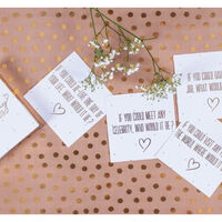 Wedding Conversation Starter Cards: Pack of 25