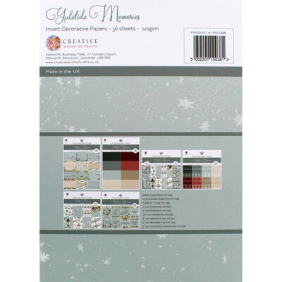 Yuletide Memories Insert Decorative Papers - 36 sheets image number 3