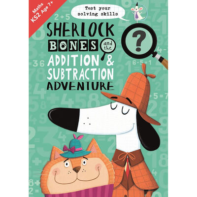 Sherlock Bones and the Addition & Subtraction Adventure image number 1