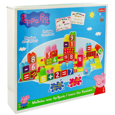 Peppa Pig Learn the Numbers Building Blocks image number 1