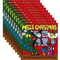 Meg's Christmas: Pack of 10 Kids Picture Book Bundle