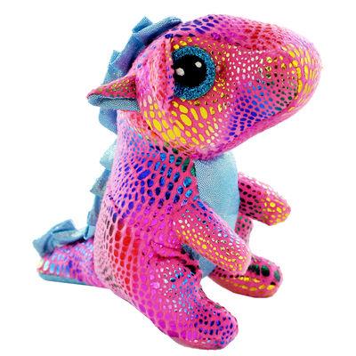 Pink Snuggly Dinosaur Plush image number 1