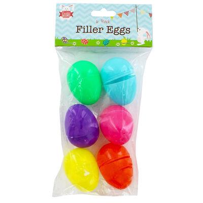 Easter Filler Eggs - 6 Pack image number 1