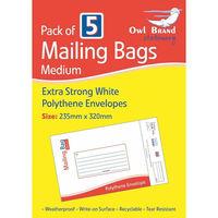 Medium Mail Bags Pack of 5