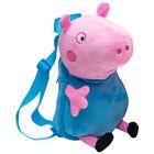 George Peppa Pig Plush Backpack image number 1