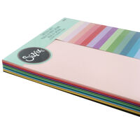 Sizzix Coloured Cardstock Sheets - 80 Pack