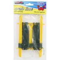13 Metre Crab line with Bait Bag - Assorted