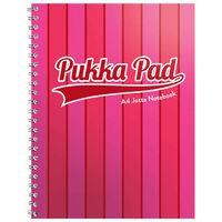 A5 Pukka Pad Pink Stripe Jotta Notebook