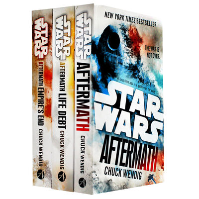 Star Wars Aftermath Trilogy: 3 Book Collection image number 1