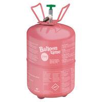 18 Inch Pink Helium Heart Balloon Bundle