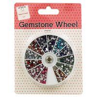 Assorted Gemstones Wheel