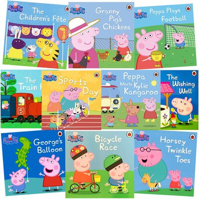 Peppa Pig's Sports Day: 10 Kids Picture Books Bundle image number 1