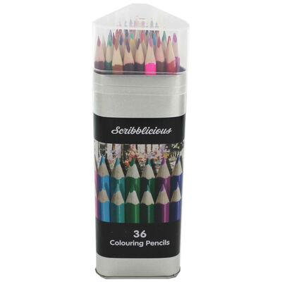 Colouring Pencils - Set Of 36 image number 2