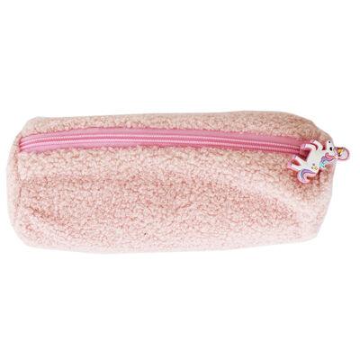 Pink Fluffy Pencil Case image number 1