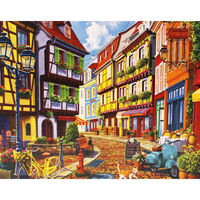Cobblestone Alley 500 Piece Jigsaw Puzzle