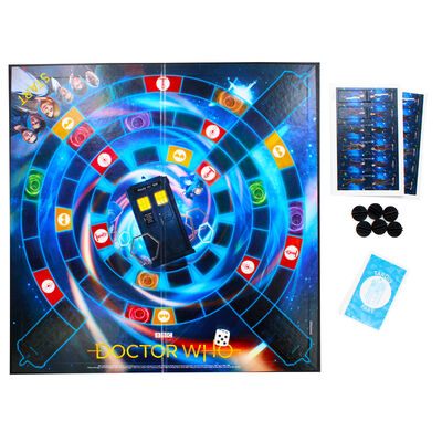 Doctor Who Race to the Tardis Board Game image number 3