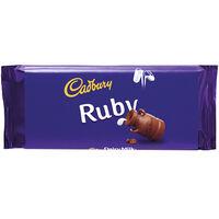 Cadbury Dairy Milk Chocolate Bar 110g - Ruby