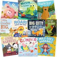 Adventure Animal: 10 Kids Picture Books Bundle