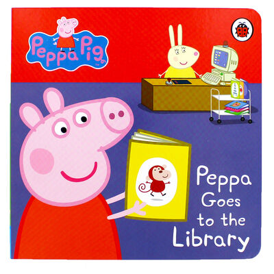 Peppa Pig: Peppa Goes to the Library image number 1