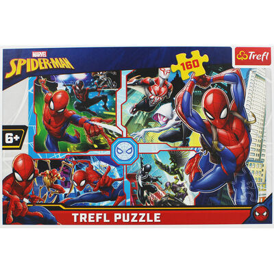Spiderman 160 Piece Jigsaw Puzzle image number 2