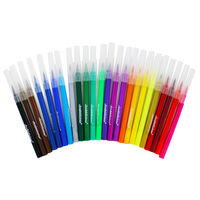 Brush Felt Pens - Set Of 24