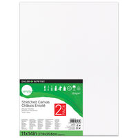 2 Daler Rowney Stretched Canvases - 11x14 Inch