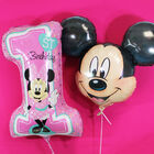 28 Inch Minnie Mouse 1st Birthday Helium Balloon image number 3