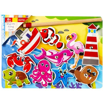 Magnetic Fishing Game Assorted image number 1