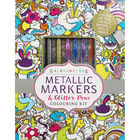 Kaleidoscope: Metallic Markers & Glitter Pens Colouring Kit image number 1