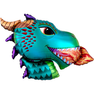 36 Inch Dragon Super Shape Helium Balloon image number 1