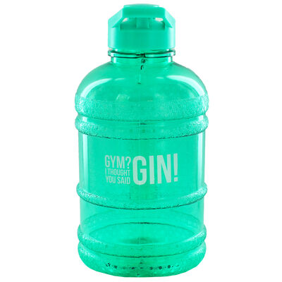 Green Gym I Thought You Said Gin 1.8 Litre Water Bottle image number 1