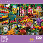 Sweets & Flower Shop 500 Piece Jigsaw Puzzle image number 1