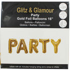 Gold Foil Party 16 Inch Balloon image number 1