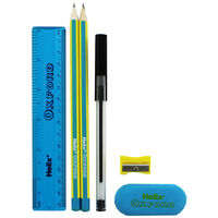 Helix Oxford Limited Edition Student Stationery Set - Blue
