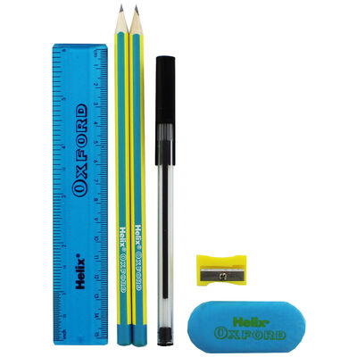 Helix Oxford Limited Edition Student Stationery Set - Blue image number 2