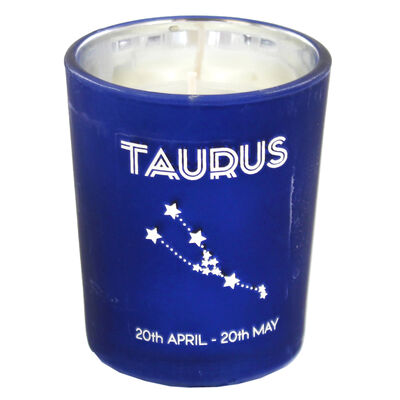 Zodiac Collection Taurus Fresh Vanilla Candle image number 2