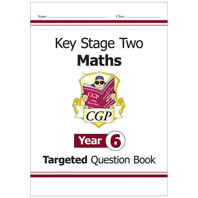 KS2 Maths Targeted Question Book: Year 6 image number 1