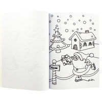 Winterworks Christmas Colouring Book