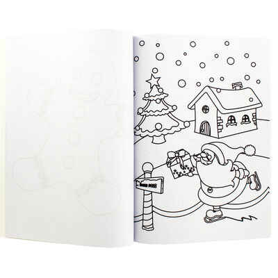 Winterworks Christmas Colouring Book image number 2