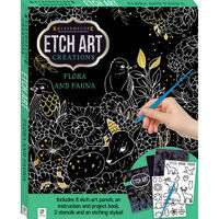 Etch Art Creations: Flora and Fauna