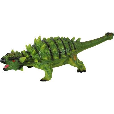 26 Inch Ankylosaurus Soft Dinosaur Figure image number 1