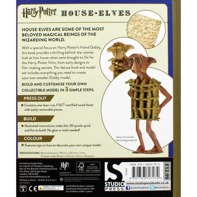 Harry Potter: House-Elves Deluxe Book and Model Set image number 4