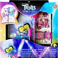 Trolls 2 Decorate Diary Set