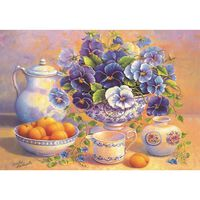 Blue Bouquet 1000 Piece Jigsaw Puzzle