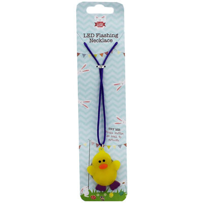 Easter Crafts Perfect Gift Assorted Easter LED Flashing Necklace