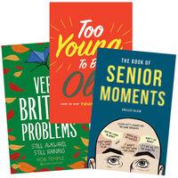British Humour & Comedy 3 Book Bundle