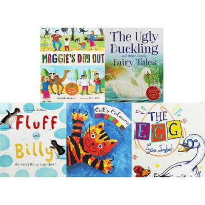 Animal Friend Adventures: 10 Kids Picture Books Bundle image number 3